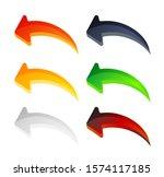 arrow shape icon   illustration ... | Shutterstock .eps vector #1574117185
