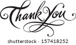 thank you | Shutterstock .eps vector #157418252