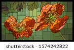 vector angular mosaic with... | Shutterstock .eps vector #1574242822