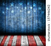 usa style background   empty... | Shutterstock . vector #157446242