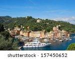 on the way to portofino ... | Shutterstock . vector #157450652