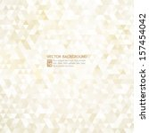 abstract gold background | Shutterstock .eps vector #157454042
