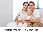 closeup portrait of a happy... | Shutterstock . vector #157455005