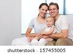 closeup portrait of a happy... | Shutterstock . vector #157455005