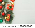 xmas new year 2020 holiday... | Shutterstock . vector #1574582245