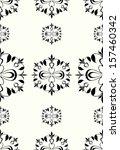 seamless pattern in retro style | Shutterstock .eps vector #157460342