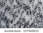 spotted black and white knitted ... | Shutterstock . vector #157463015