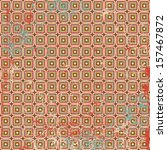 pattern of colored squares | Shutterstock .eps vector #157467872