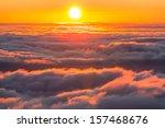Stock photo sunset scene 157468676