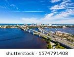 Aerial View Daytona Beach And...