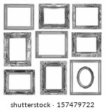 the collection antique frame on ... | Shutterstock . vector #157479722