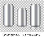 aluminium can mockup for energy ...   Shutterstock .eps vector #1574878342