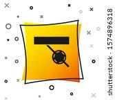 Black Pirate Eye Patch Icon...