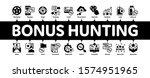 bonus hunting minimal... | Shutterstock .eps vector #1574951965
