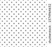 black white seamless pattern... | Shutterstock .eps vector #1574964652