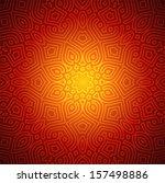 beautiful indian pattern design | Shutterstock .eps vector #157498886