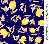 watercolor seamless pattern... | Shutterstock . vector #1575260752