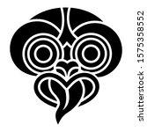 hei tiki icon  an ornamental... | Shutterstock .eps vector #1575358552