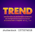 strong bold text effect  hot... | Shutterstock .eps vector #1575376018
