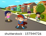 ball,boys,cartoon,cheerful,childhood,children,city,clip-art,clipart,cute,drawing,female,football,friend,friendship