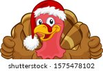 turkey christmas or...   Shutterstock .eps vector #1575478102