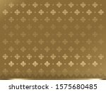 thai painting  modern line thai ... | Shutterstock .eps vector #1575680485