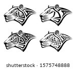 Set Of Different Leopards In...