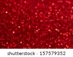Abstract Defocused Red...