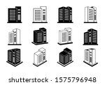 icons company set on white... | Shutterstock .eps vector #1575796948