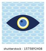vector of evil eye   turkish... | Shutterstock .eps vector #1575892408