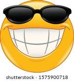 Emoji Emoticon With Big Toothy...