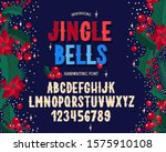 christmas font. holiday... | Shutterstock .eps vector #1575910108