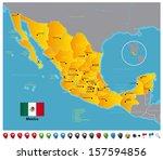 mexico | Shutterstock .eps vector #157594856