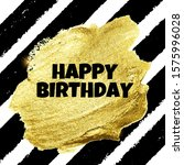 abstract happy birthday... | Shutterstock .eps vector #1575996028