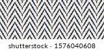 Diagonal Ikat Stripes. Zigzag...