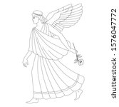 Heraldry. Hand Drawn Morpheus...