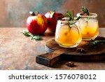 Smoky Apple Cider Margarita...