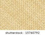 vector wicker placemat  see... | Shutterstock .eps vector #15760792