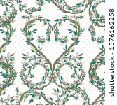 seamless pattern nature vintage ... | Shutterstock .eps vector #1576162258