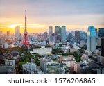 Cityscape Of Tokyo Skyline ...