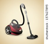 vacuum cleaner  vector... | Shutterstock .eps vector #157627895