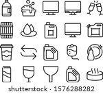 liquid vector icon set such as  ...