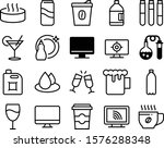 liquid vector icon set such as  ... | Shutterstock .eps vector #1576288348