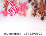 christmas background of...   Shutterstock . vector #1576290922