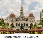 Saigon Central Post Office in HO CHI MINH CITY, VIETNAM