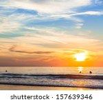 San Diego Sunset At La Jolla...