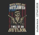 American Skull And Guns...