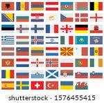vector flags of european...   Shutterstock .eps vector #1576455415