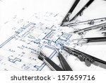 the part of architectural... | Shutterstock . vector #157659716