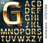 vector illustration of golden...   Shutterstock .eps vector #157671206